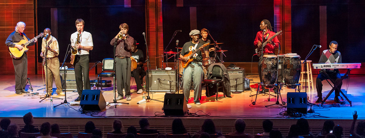 Thomas Mapfumo at Carnegie Hall